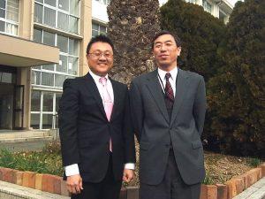 大志学園の高校訪問「久米田高校編」