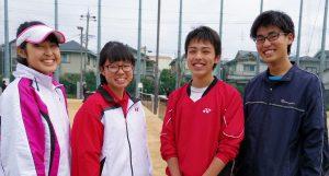 三国丘's club なう ~ソフトテニス部の皆さんに聞きました!