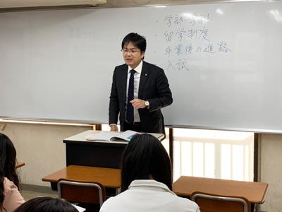 関西外国語大学説明会の様子